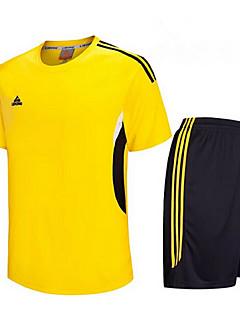 tanie Koszulki piłkarskie i szorty-Zestawy odzieży/Garnitury-Męskie-Fitness / Sport i rekreacja / Piłka nożna / Bieganie-Z krótkim rękawem-Oddychający / Quick Dry / wicking(