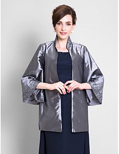 cheap Wedding Wraps-Taffeta Wedding Wedding  Wraps Coats / Jackets