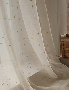 Two Panel The Dining-Room Of Europe Type Simple Fashion Style Bedroom Jacquard Gauze Shade