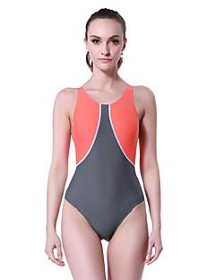 זול בגד ים ספורטיבי-בגדי ריקוד נשים בגד ים נמתח, דחיסה Tactel / אלסטיין ביגוד חוף בגדי ים צלילה / שחייה