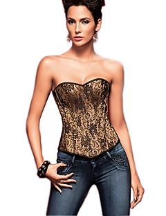 Для женщин Корсет под грудь / Классический корсет / Большие размеры Ночное бельеРетро / Сексуальные платья / Увеличивающий объем / С