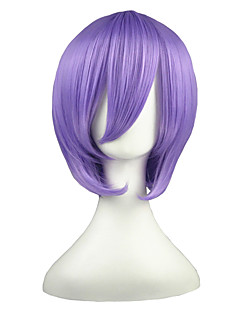 billige Anime cosplay-Cosplay Parykker Suzumiya Haruhi Hiiragi Tsukasa Anime Cosplay-parykker 35 CM Varmeresistent Fiber Herre Dame