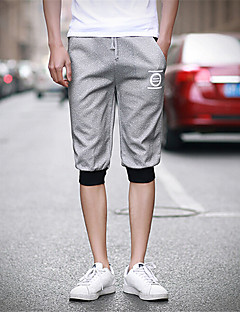 Men's Solid Casual Shorts,Nylon Black / Blue / Gray