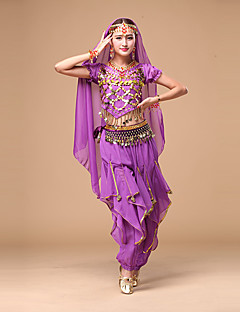 Devemos nós mulheres de dança do ventre top / calças / roupas de lenço de quadril estilo elegante