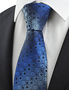 billige Slips og sløyfer-Herre Vintage Søtt Fest Kontor Fritid Slips Geometrisk Bomull Rayon Polyester