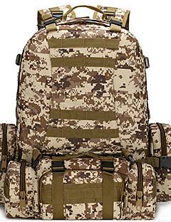 billiga Ryggsäckar och väskor-AOKALI 60L Ryggsäckar / Magväskor - Vattentät, Bärbar, Multifunktionell Camping, Klättring oxford ACU Färg, djungel kamouflage, digital