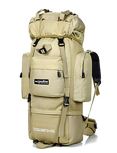 cheap Backpacks & Bags -LOCAL LION 75L Backpack - Waterproof Camping / Hiking, Traveling Nylon White, Black, Digital Jungle
