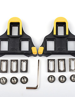 cheap Pedals-XPT / SPD 6 Degree Float Cleat / Cleat Set Road Bike Durable Compatible With SHIMANO Non-Skid Synthetic - Yellow/Black Yellow/Red