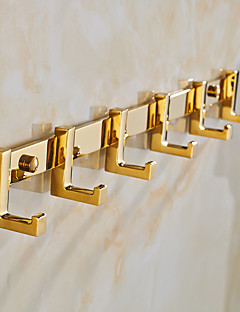 cheap Robe Hooks-Robe Hook Neoclassical Brass Zinc Alloy 1 pc - Hotel bath