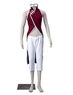"""billige Anime Kostymer-Inspirert av Naruto Sakura Kasugano Anime  """"Cosplay-kostymer"""" Cosplay Klær Ensfarget Ermeløs Bukser Cheongsam Til Dame"""