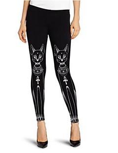 Damesmode print legging, polyester, dierenprint, cool