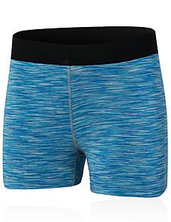 Mulheres Shorts de Corrida Secagem Rápida Compressão Confortável Shorts Calças para Ioga Exercício e Atividade Física Esportes Relaxantes