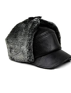 Chapéu de Pelo Esqui Chapéu Homens Térmico/Quente Pranchas de Snowboard Poliéster Esportes de Inverno Inverno