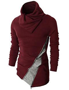tanie Męskie swetry i swetry rozpinane-Męskie Golf Pulower Wielokolorowa Długi rękaw