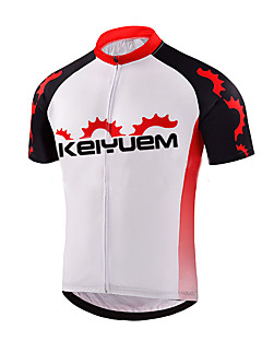 cheap Cycling Jerseys-KEIYUEM Men's Women's Short Sleeves Cycling Jersey Bike Quick Dry, Anatomic Design, Breathable