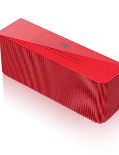 billige Bluetooth høytalere-Innendørs Bluetooth Bærbar Bluetooth 3.0 3,5 mm AUX USB Høyttaler til bokhylle Gull Svart Sølv Rød Blå