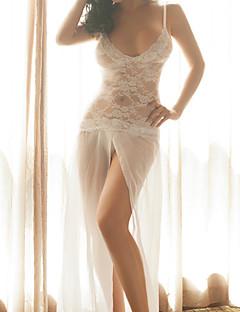 Női Csipke fehérnemű Hálóruha,Sexy Csipke Jacquardszövet-Vékony Csipke Szín