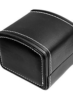 Χαμηλού Κόστους Αξεσουάρ Ρολογιών-PU δέρμα / γνήσιο δέρμα Παρακολουθήστε Band Λουρί για Μαύρο 20 εκατοστά / 7.9 ίντσες 2cm / 0.8 Ίντσες