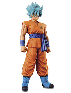billige Anime cosplay-Anime Action Figurer Inspirert av Dragon Ball Saiyan 27 CM Modell Leker Dukke