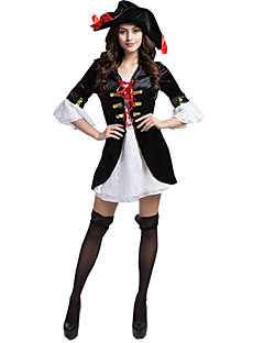 cheap -Pirate Cosplay Costume Party Costume Women's Christmas Halloween Carnival Oktoberfest New Year Festival / Holiday Halloween Costumes
