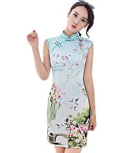 Badedrakt/Kjoler Cosplay Lolita-kjoler Blomstret Kortermet Til