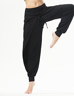 billiga Träning-, jogging- och yogakläder-Dam Brett skaft Yoga byxor - Svart, Grå sporter Byxa Motion & Fitness, Löpning Sportkläder Andningsfunktion, Bekväm Elastisk