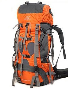 cheap Backpacks & Bags -Sheng yuan 70+5L Hiking Backpack / Rucksack - Waterproof, Rain-Proof, Heat Insulation Camping / Hiking, Climbing, Traveling PU Leather,