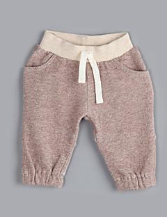 Jungen Hose-Lässig/Alltäglich einfarbig Baumwolle Herbst Braun
