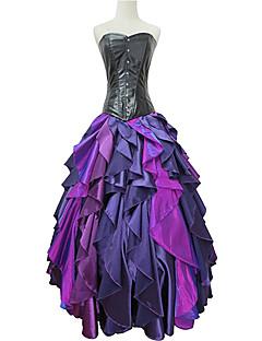 Χαμηλού Κόστους -Ουρά γοργόνας Στολές Ηρώων Κοστούμι πάρτι Χορός μεταμφιεσμένων Στολές Ηρώων Ταινιών Βυσσινί Φόρεμα Halloween Απόκριες Νέος Χρόνος