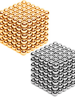 cheap -2*216 pcs 3mm Magnet Toy Magnetic Balls Building Blocks Puzzle Cube Metalic Contemporary Classic & Timeless Chic & Modern Stress and Anxiety Relief Office Desk Toys Relieves ADD, ADHD, Anxiety, Autism