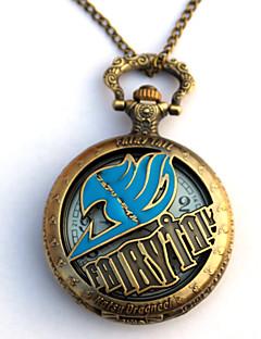 baratos Acessórios Cosplay Anime-Relógio Inspirado por Fairy Tail Eren Jager Anime Acessórios para Cosplay Relógio Liga Homens