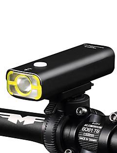 billiga Cykling-LED-Ficklampor Framlykta till cykel Ficklampor LED XP-G2 Cykelsport Uppladdningsbar Bimbar Vattentät Enkel att bära 18650 400 Lumen