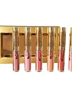 baratos Maquiagem para os lábios-Gloss Labial Alta qualidade Maquiagem para o Dia A Dia Liquido