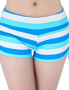 Női Kratke hlače za trčanje Légáteresztő Rövidnadrágok Alsók mert Jóga Fitnessz Futás Pamut Vékony Fehér Fekete Piros Zöld Kék S M L XL
