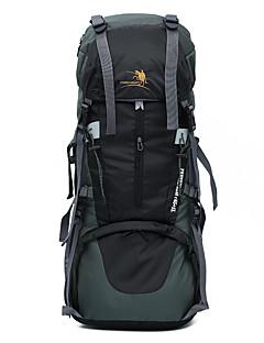 70 L Arka Çantaları Tırmanma Serbest Sporlar Kamp & Yürüyüş Su Geçirmez Toz Geçirmez Giyilebilir Çok Fonksiyonlu
