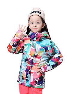 GSOU SNOW Crianças Jaqueta de Esqui Prova-de-Água Térmico/Quente A Prova de Vento Resistente Raios Ultravioleta Vestível Respirável Esqui
