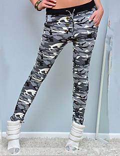 женщины печатают legging, полиэфирный камуфляж. досуг. мода. спортивные брюки