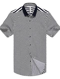 Χαμηλού Κόστους Επίσημα πουκάμισα-Ανδρικά Πουκάμισο Δουλειά Ριγέ