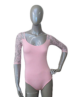 billiga Basis-dansetøj-Danstillbehör / Balett Trikåer Dam Träning / Prestanda Bomull / Spets / Lycra Trikå / Onesie / Ballet / Föreställning