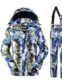 Crianças Esqui Esportes de Neve Snowboard Térmico/Quente Alta Respirabilidade (>15,001g) Respirável Protecção Confortável Poliéster