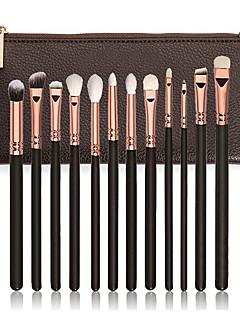 baratos -12pcs Pincéis de maquiagem Profissional Conjuntos de pincel / Pincel para Sombra / Pincel para Lábios Fibra Sintética / Pêlo Sintético