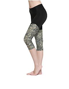 billiga Träning-, jogging- och yogakläder-Dam Lappverk Löparbyxor sporter Cykling Tights / Leggings Sportkläder Snabb tork, Andningsfunktion Elastisk