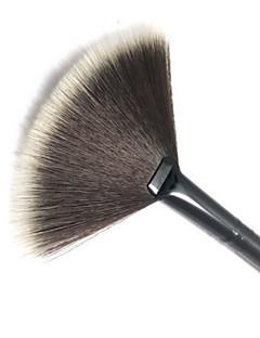 billiga Sminkborstar-1pcs Makeupborstar Professionell Rougeborste / Fläkt-borste / Puderborste Nylonborste Bärbar / Resan / Miljövänlig Plast Stor borste