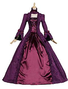 Steampunk® Renaissance Victorian Dress Brocade Period Ball Gown Dark Vampire Reenactment Adult Women Costume