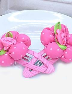 tanie Akcesoria dla dzieci-Akcesoria do włosów - Dla dziewczynek - Na każdy sezon Spinki - Blushing Pink Fuchsia