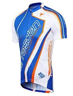billige Sykkelklær-TASDAN Herre Kortermet Sykkeljersey Sykkel Jersey / Klessett, Fort Tørring, Pustende, Svettereduserende
