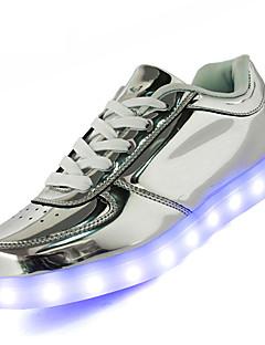 Uniseks Spor Ayakkabısı Rahat Hafif Tabanlar Işıklı Ayakkabılar Tüylü Bahar Yaz Sonbahar Atletik Günlük YürüyüşRahat Hafif Tabanlar
