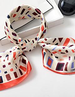 レディース キュート オフィス カジュアル シルク スカーフ