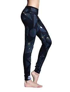 Women's Gym Leggings Running Tights Quick Dry Breathable Tights Bottoms for Yoga Pilates Exercise & Fitness Leisure Sports Running
