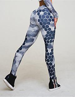 Dame Imprimeu Polyester,Mediu Imprimeu Legging